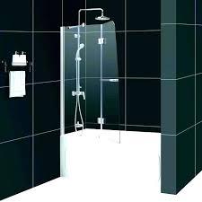 half glass shower door half glass shower door for bathtub glass bathtub doors furniture excellent half