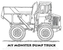 Monster Truck Grave Digger Coloring Pages Dropnewsme