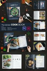 recipe book formats recipe design template
