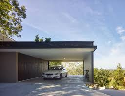 Home Designs: Modern Carport - Modern Home Design
