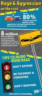 nearly percent of drivers express significant anger aggression aaafts road rage brochure