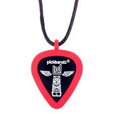 pickbandz guitar pick necklace guitar pick holder just pop in your cool guitar picks or your custom guitar picks and rock on