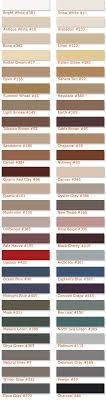 Custom Grout Color Chart Sealant Colors