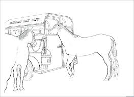 Horse Coloring Pages Easy Pictures Horses Coloring Pages Horse