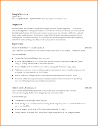 Warehouse Manager Resume Sop Proposal