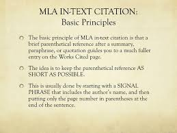 Ppt Mla In Text Citation Powerpoint Presentation Id2799988