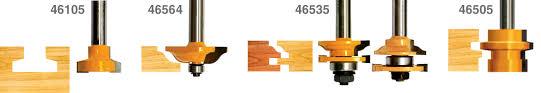 <b>Набор</b> фрез для <b>изготовления</b> филенчатых <b>изделий</b> 5 шт. Энкор ...