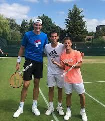 Публикация от diego schwartzman (@dieschwartzman) 4 авг 2019 в 12:40 pdt. Dominic Thiem Diego Schwartzman Johnr Isner Tennis Photos Tennis Pictures Isner Tennis