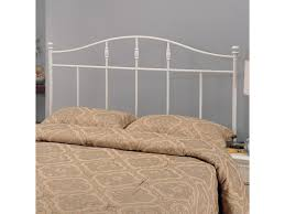 white metal headboard. Simple Metal Iron Beds And Headboards FullQueen Cottage White Metal Headboard By Coaster In H