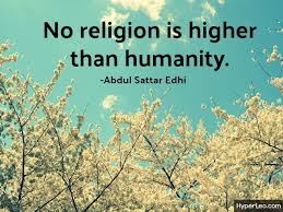 Quotes About Humanity Enchanting Famous Abdul Sattar Edhi Quotes About Humanity With Images