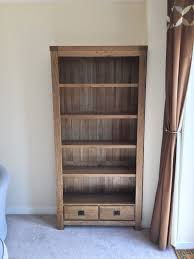 solid oak living room set bookcase coffee table and tv cabinet