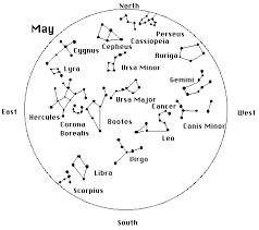 Cosmos Star Maps Of The Constellations As Seen In The
