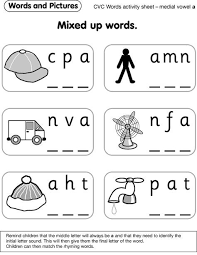 This is the pack i use at the beginning of the year in. Activity Sheet A Phonics Kindergarten Cvc Word Activities English Lessons For Kids