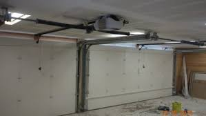 low headroom garage door opener zero clearance op on low profile roller garage door
