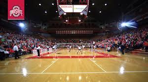 Covelli Center Seating Chart Ohio State Ohio State Buckeyes Womens Volleyball Vs University Of