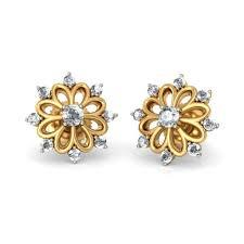 Designer Earrings Online Shopping India Indian Gold Jewellery Designs Earrings Online Shopping India