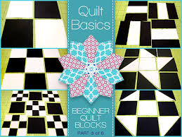Quilting Basics: A Five-Part Series for Beginners | Sew4Home & ... we'll show you how to create some of the most popular basic quilt block  patterns. Plus, you learn how to start designing custom blocks of your own. Adamdwight.com