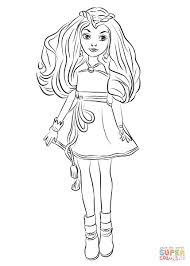 Free Thanksgiving Descendants Coloring Pages 11 Fresh Disney Mal And