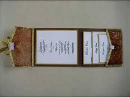 Wedding Invitation Folding Pocket Fold Wedding Invitations Youtube