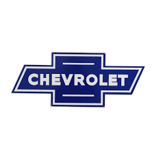 All Chevy blue chevy bowtie emblem : Chevy Bowtie Logo Blue Large Metal Sign | Chevrolet GM Automotive ...