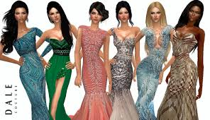 Sims 2 Designer Clothes Downloads Dales Couture Sims 2