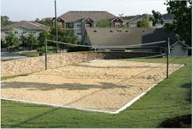 Volleyball Court  Neave SportsBackyard Beach Volleyball Court