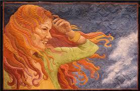 Article: Move Over, Monet: Quilt Art is Fine Art | OpEdNews & Windblown by Maria Elkins. Adamdwight.com
