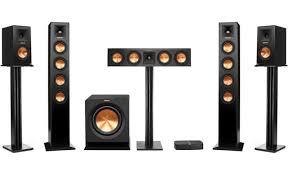 klipsch surround sound speakers. klipsch reference premiere hd wireless 5.1 surround sound system (speaker stands not included) speakers q