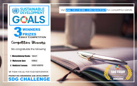 the african book club sdgs essay writing competition winners  the african book club sdgs essay writing competition awards