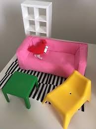 ikea doll furniture. Ikea Huset Living Room Doll Furniture Set Blythe Sindy Barbie House Diorama