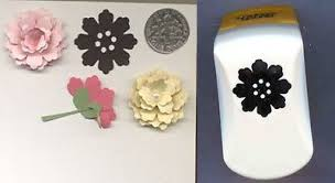 Paper Punches Flower Silhouette Flower 2 Lg Paper Punch X Punch Bunch W Instr Quilling