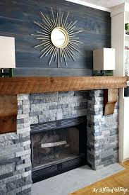 air stone over brick fireplace how to install airstone on brick fireplace