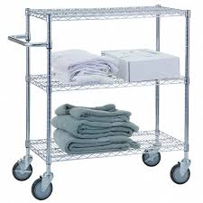 r b wire portable adjule metal wire utility cart 3 wire shelves 18