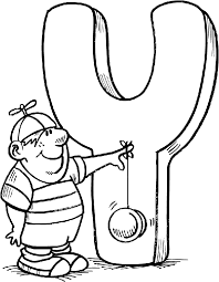 Small Picture Letter Y coloring pages 7 Nice Coloring Pages for Kids