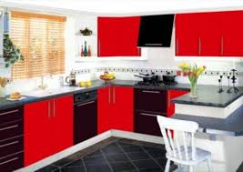 kitchen color ideas red. Red And Black Kitchen Color Ideas