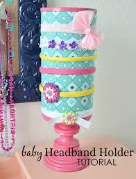 baby headband holder tutorial