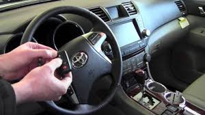 2012 | Toyota | Highlander | Program Smart Key Unlock Feature ...