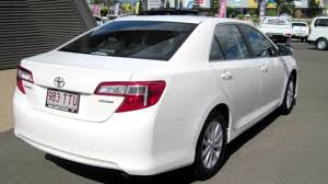 toyota camry 2012 white. Unique 2012 2012 Toyota Camry ASV50R Altise White 6 Speed Automatic Sedan Intended T
