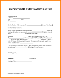 6 Employer S Letter To Confirm Employment Intern Resume