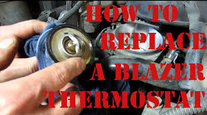 DIY How to Replace a Thermostat On a Chevy Blazer S10 GMC Jimmy ...