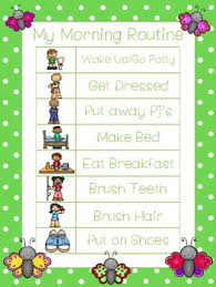 4 Butterfly Themed Daily Routine Charts Preschool 3rd Grade Routine Activity