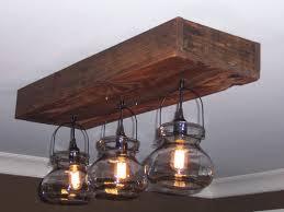 image of wooden chandelier