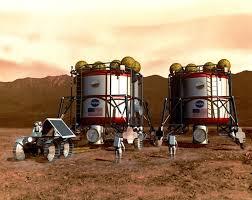 how does space exploration benefit you mars human exploration art astronauts outpost habitat connection
