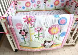 girl baby bedding sets 6 owl crib cot set girl baby bedding set kids kit quilt girl baby bedding