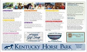 Kentucky Horse Park Seating Chart Park Maps Kentucky Horse Park
