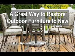 Summer outdoor furniture Diy Restore Patio Furniture For The Summer Outdoor Season Offenbachers Restore Patio Furniture For The Summer Outdoor Season Youtube