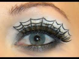 are you ready for how to apply gothic spider web eye makeup for