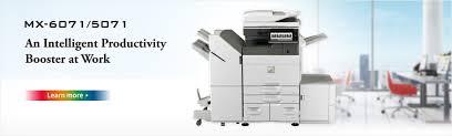 Copier Comparison Chart Sharp Digital Mfps Printers Sharp Global