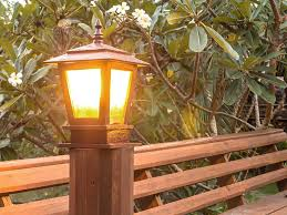 6 best solar post lights to lighten