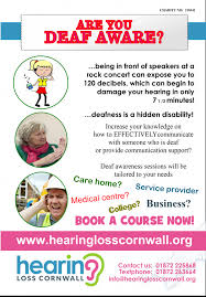 Signposting Support Hearing Loss Cornwall Supporting